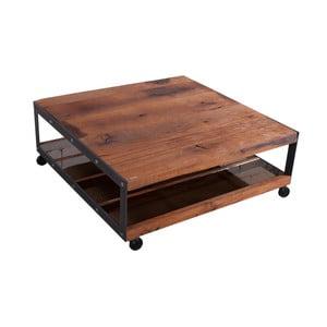Konferenční stolek s deskou z masivního dubového dřeva FLAME furniture Inc. Don Vito