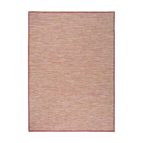 Kiara piros beltéri/kültéri szőnyeg, 150 x 80 cm - Universal