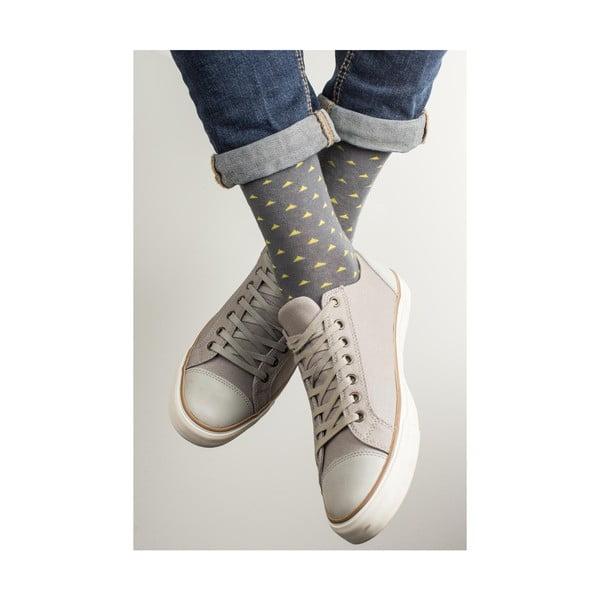 Sada 3 párů unisex ponožek Funky Steps Evana, velikost39/45