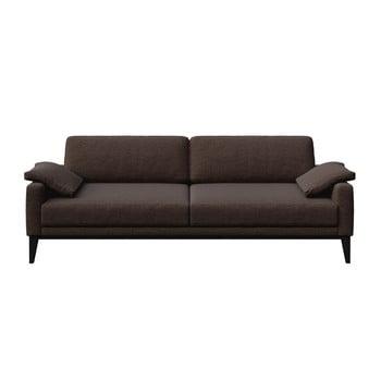 Canapea cu 3 locuri MESONICA Musso maro