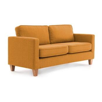 Canapea cu 3 locuri Vivonia Sorio, muștar de la Vivonita
