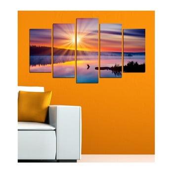 Tablou din mai multe piese 3D Art Mardo Sunset, 102 x 60 cm de la 3D Art