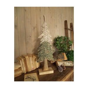 Sada 2 dekorativních stromků z mangového dřeva Orchidea Milano Pine Trees, výška 73 cm