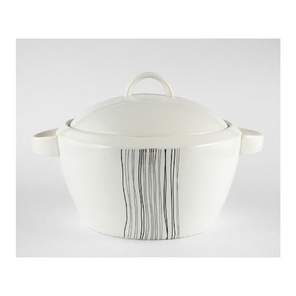 Porcelánová mísa na polévku Silver Line