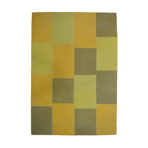 Hořcicově hnědý koberec Kayoom Emotion, 160 x 230 cm
