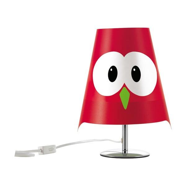 Stolní lampa Lucignalo červená