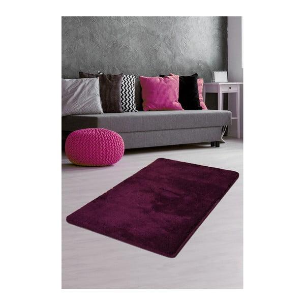 Ciemnofioletowy dywan Milano, 140x80 cm