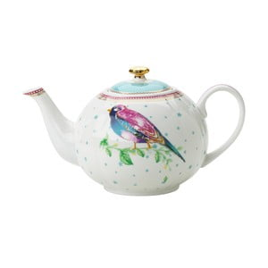 Porcelánová konvice Birdie od Lisbeth Dahl