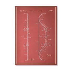 Plakát Bow III, 30x42 cm