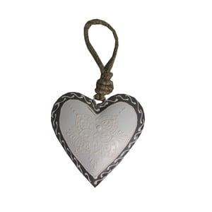 Decorațiune inimă Antic Line Light Heart, 7 cm