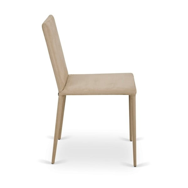 Sada 2 béžových židlí Garageeight Ikaalinen