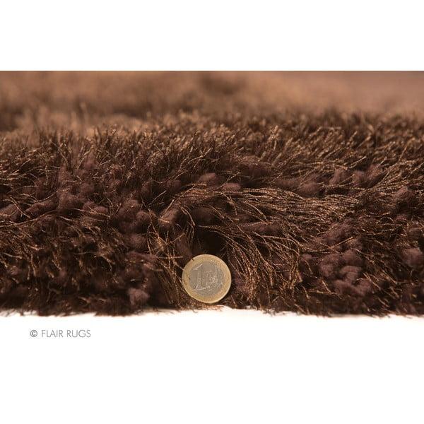 Koberec Pearl 150 cm, čokoládový