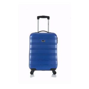 Moderý příruční kufr na kolečkách BlueStar Bilbao, 35l