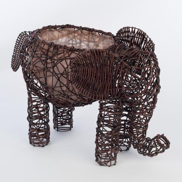 Dekorativní ratanový květináč Elephant
