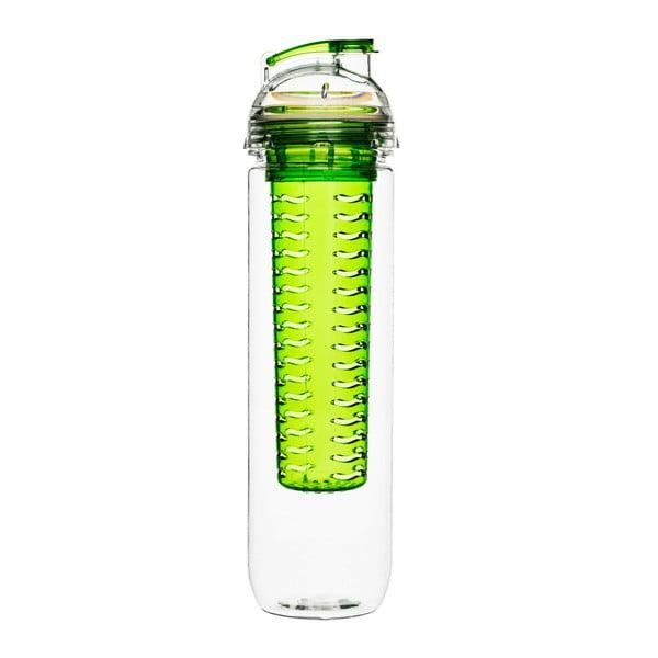Sticlă cu difuzor Sagaform Fresh, 800 ml, verde