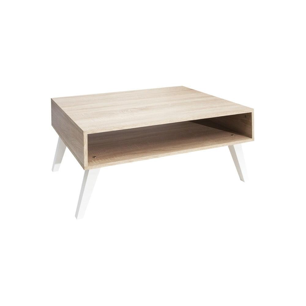 Hnědý konferenční stolek Symbiosis Kola