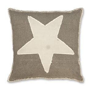 Polštář Star 45x45 cm, antracitový
