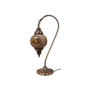 Skleněná lampa Fishing I, 15 cm