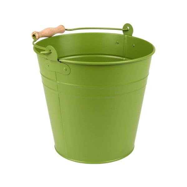 Zelené vědro Esschert Design Garden Time, 4,9 l