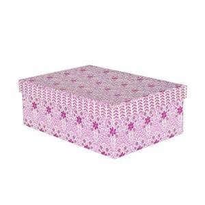 Krabice Pudelka 36x28 cm, fialová