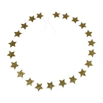 Ghirlandă de Crăciun Rex London Gold Stars imagine