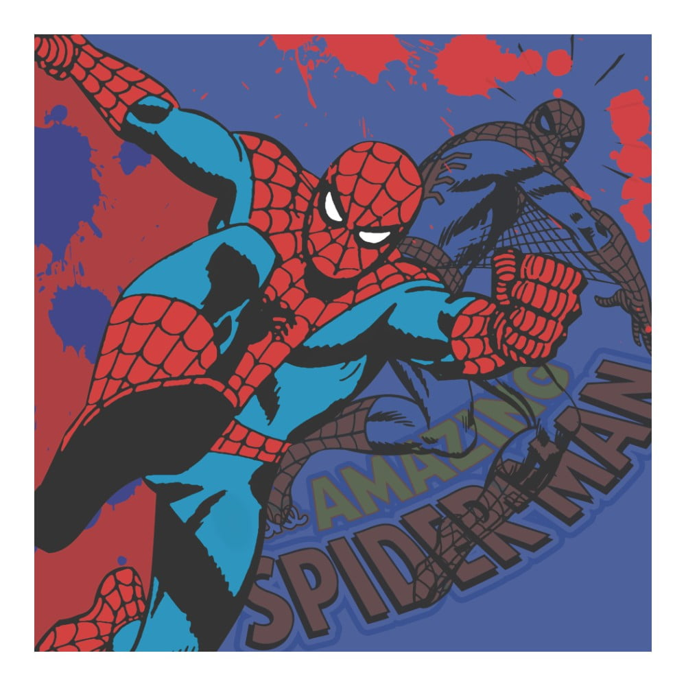Obraz Pyramid International Spider-Man, 40 x 40 cm