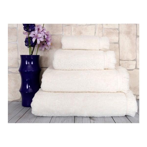 Bílý ručník Irya Home Superior, 50x90 cm