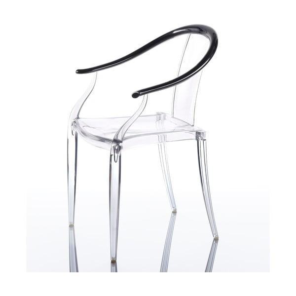 Sada 2 židlí Mi Ming, černá
