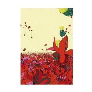 Plakát Mon Petit Art Champs Fleur, 85x58cm