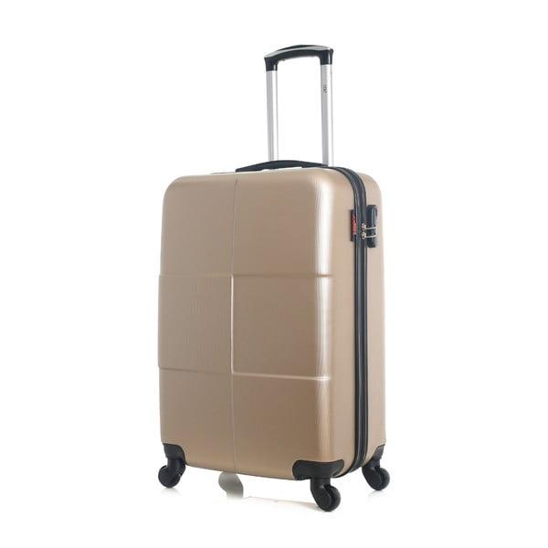 Cestovní kufr ve zlaté barvě na kolečkách Hero Coronado, 61 l