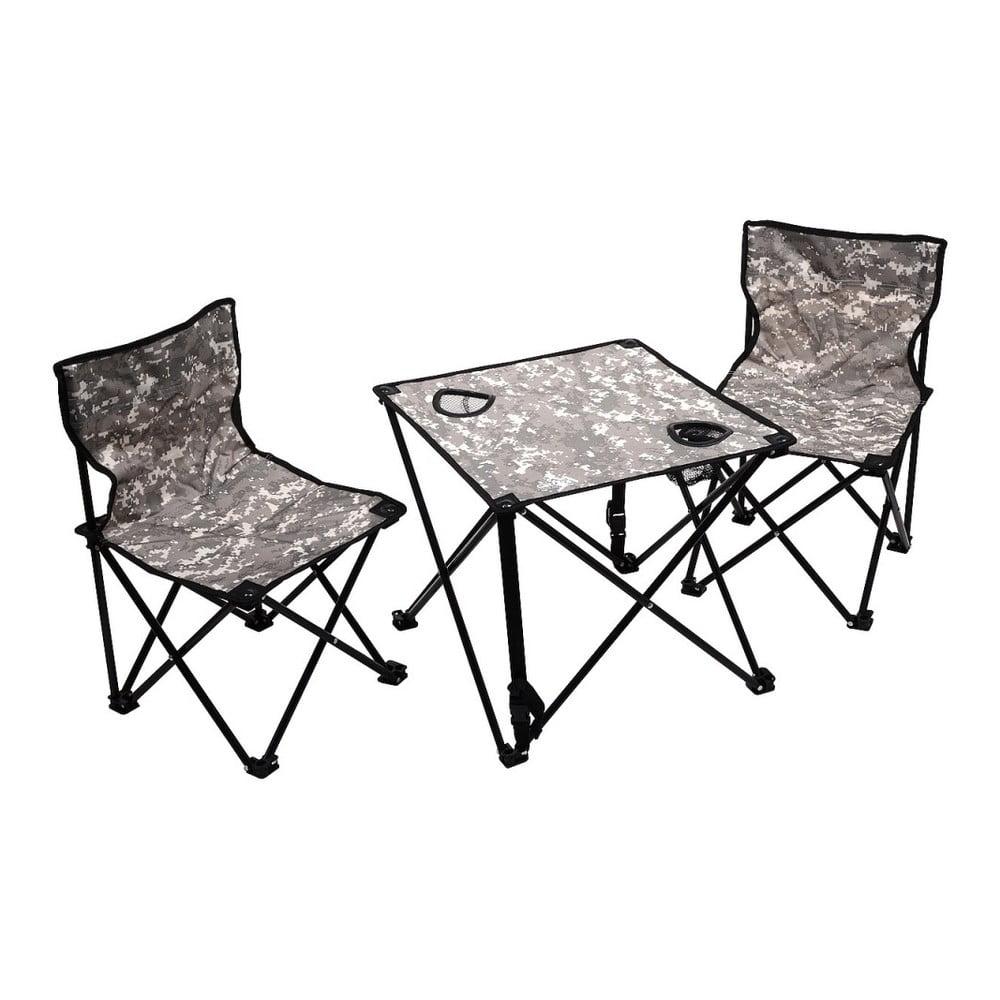 Set 2 skládacích kempingových židliček a stolku Cattara Verona
