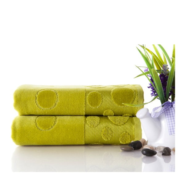 Sada ručníků Tropical Green 50x90 cm