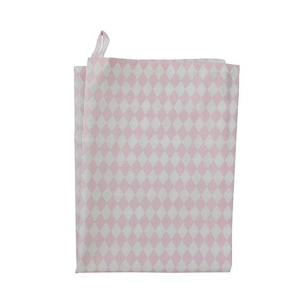 Utěrka Krasilnikoff Small Harlekin Pink