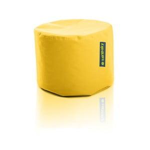 Sedací vak Taburet, žlutý