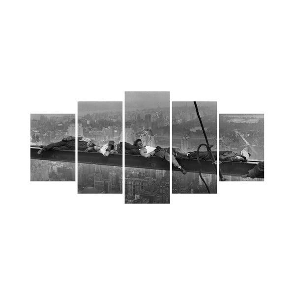Vícedílný obraz Black&White no. 8, 100x50 cm