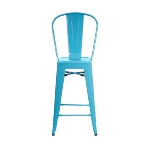 Modrá barová židle D2 Paris