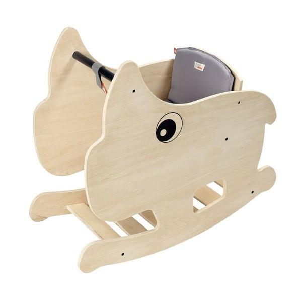 Dřevěný houpací koník Nozo