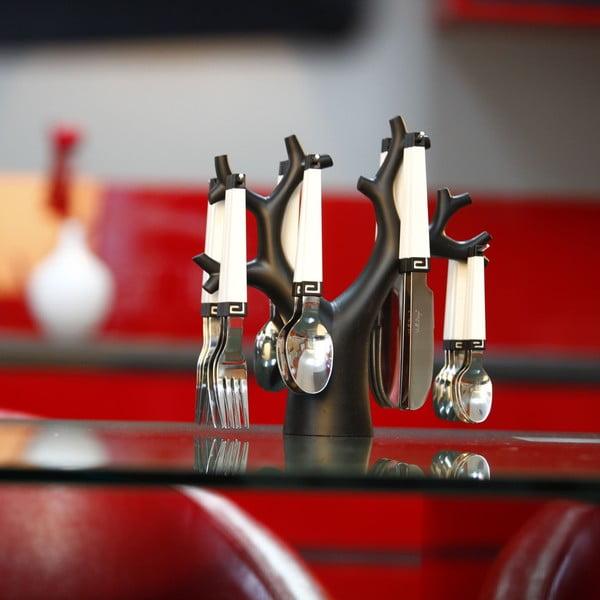Set 24 tacâmuri cu suport Vialli Design Enea
