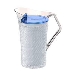 Bílý plastový džbán Asobu Iceberg Pitcher, 1,478 l