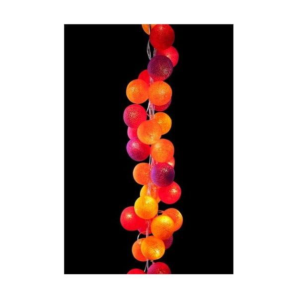 Světelný řetěz Turkish Delight, 50 ks světýlek