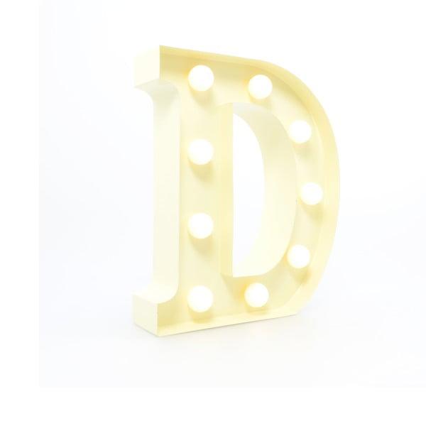 Dekorativní světlo Carnival D, vanilkové