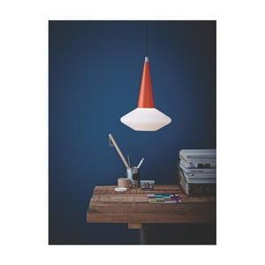 Oranžovo-bílé stropní svítidlo Herstal Dawn