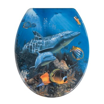 Capac WC Wenko Sea Life, 45 x 37,5 cm imagine