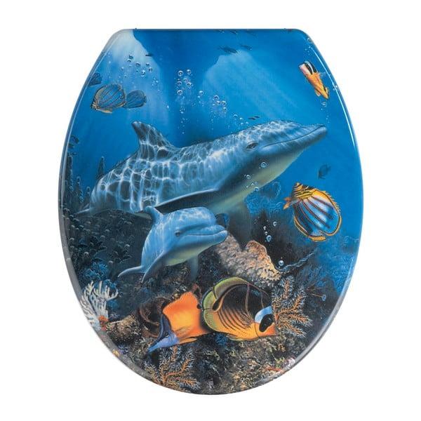 WC sedátko Wenko Sea Life, 45 x 37,5 cm