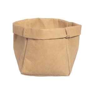 Úložný košík z omyvatelného papíru Furniteam Tree, ⌀ 9 cm