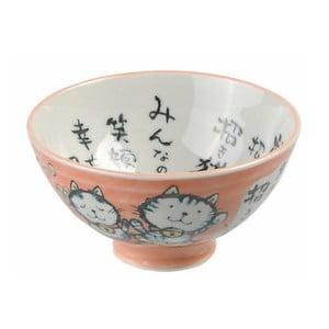 Růžová miska Tokyo Design Studio Kawaii, ø11,5cm
