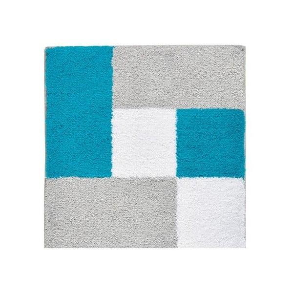 Koupelnová předložka Zamba Blue, 60x60 cm