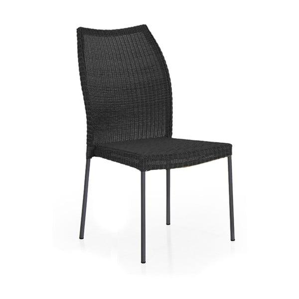 Černá zahradní židle Brafab Angelica