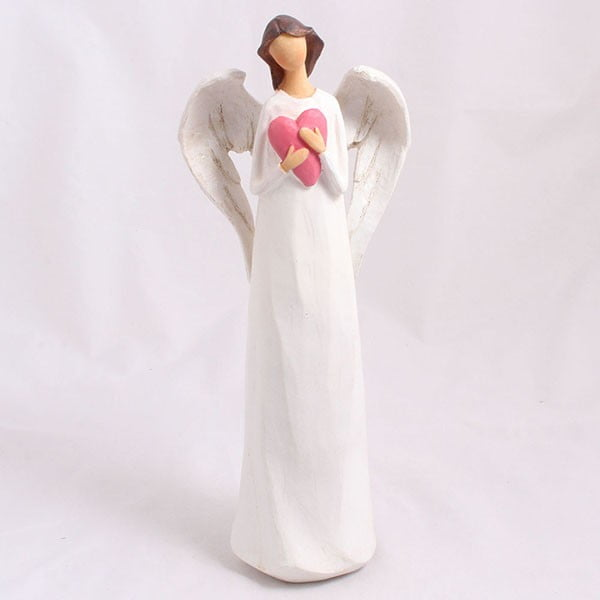 Dekorativní anděl se srdcem