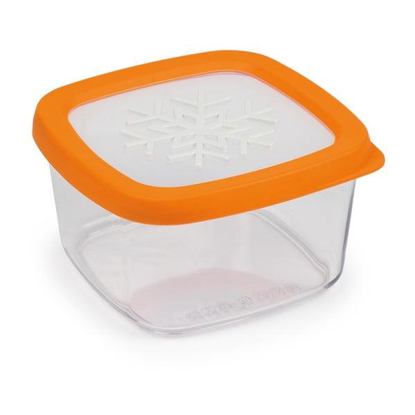 Snowflake narancssárga élelmiszer tároló, 1l - Snips